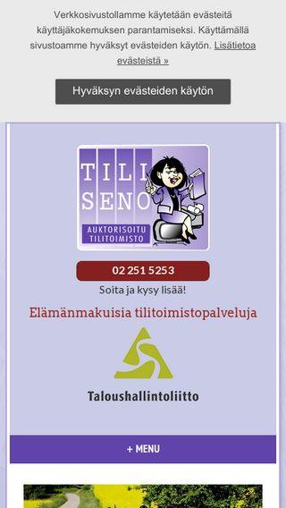 Mobile preview of tiliseno.fi