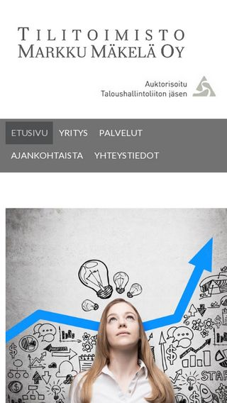 Mobile preview of tilitoimistomakela.fi
