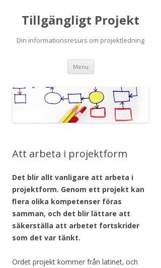 Mobile preview of tillgangligtprojekt.se