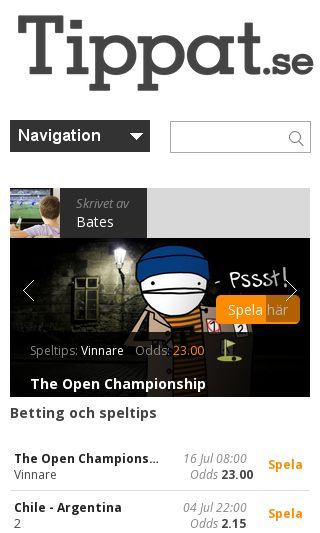 Mobile preview of fotbollstradaren.com
