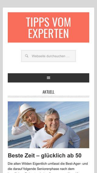Mobile preview of tipps-vom-experten.de