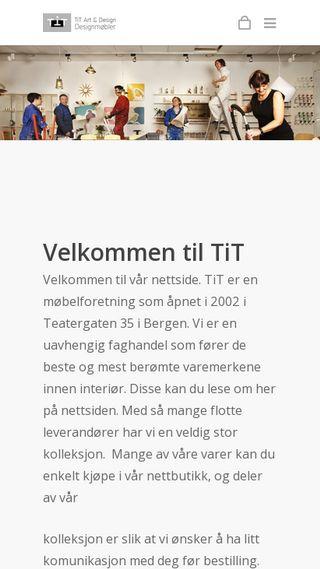 Mobile preview of titnett.no