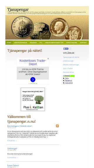 Mobile preview of tjanapengar.n.nu