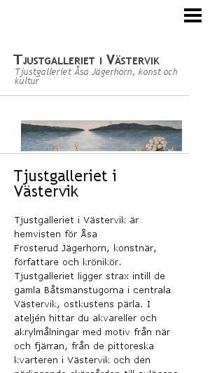 Mobile preview of tjustgalleriet.se