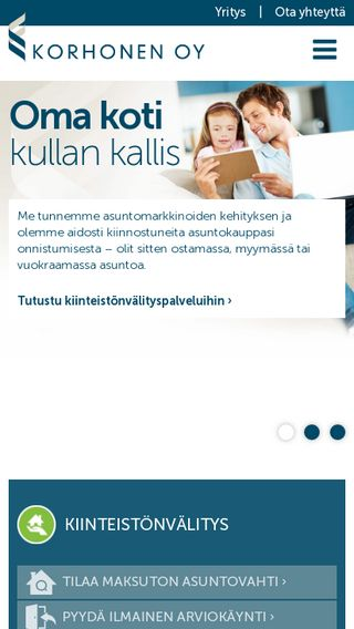 Mobile preview of tkt-korhonen.fi