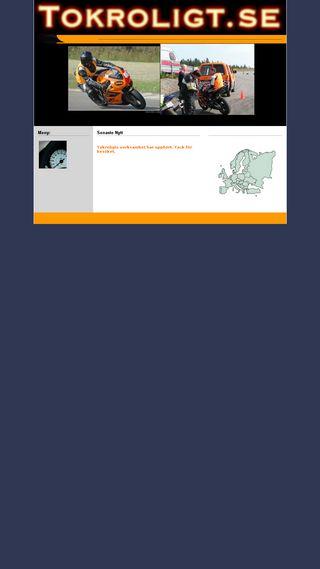 Mobile preview of tokroligt.se