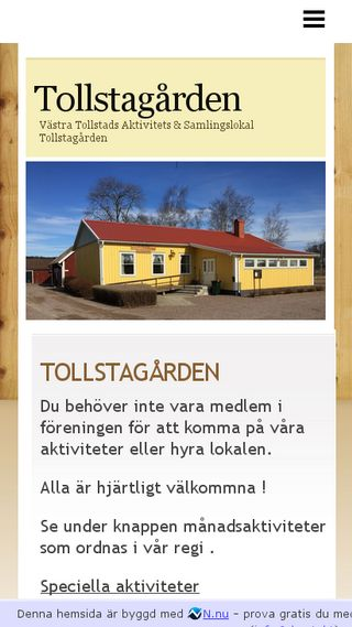 Mobile preview of tollstagarden.n.nu