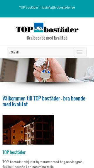 Mobile preview of topbostader.se