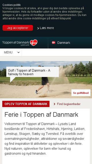 Mobile preview of toppenafdanmark.dk