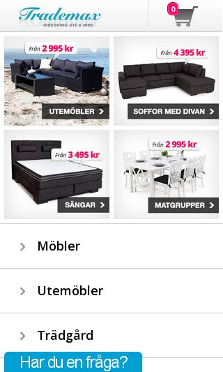 Mobile preview of trademax.se