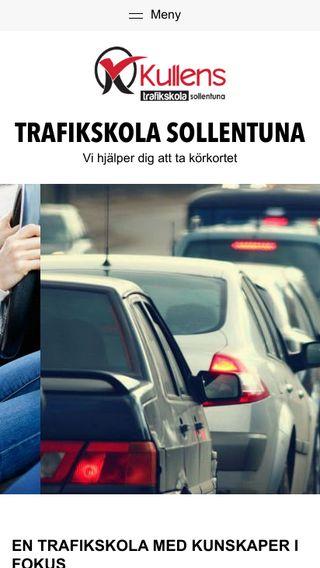 Mobile preview of trafikskolasollentuna.nu
