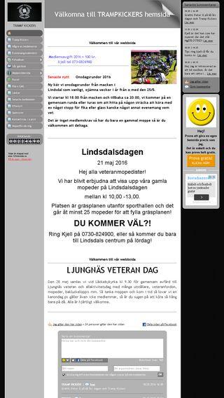Mobile preview of trampkicker.se