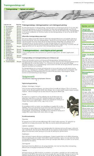 Mobile preview of traningsredskap.net