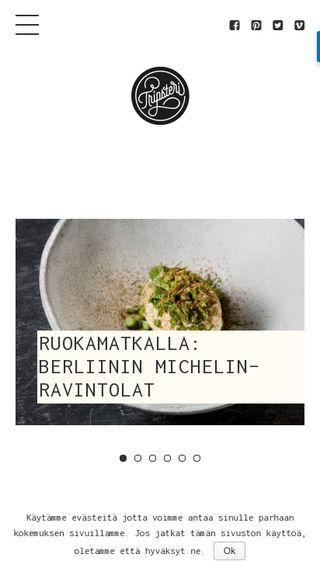 Mobile preview of tripsteri.fi