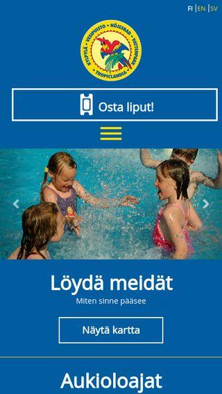 Mobile preview of tropiclandia.fi