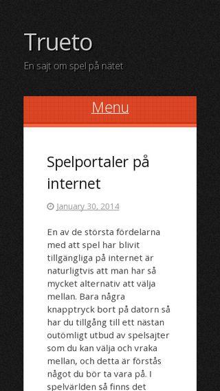 Mobile preview of trueto.se