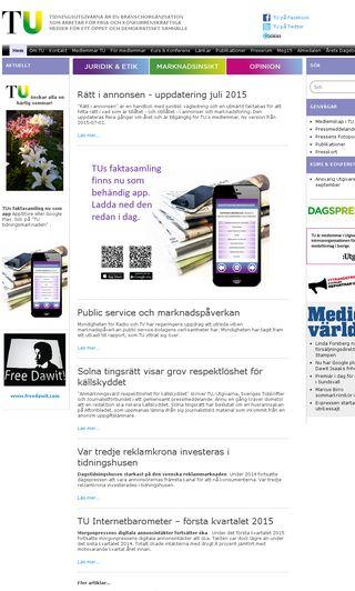 Mobile preview of tu.se