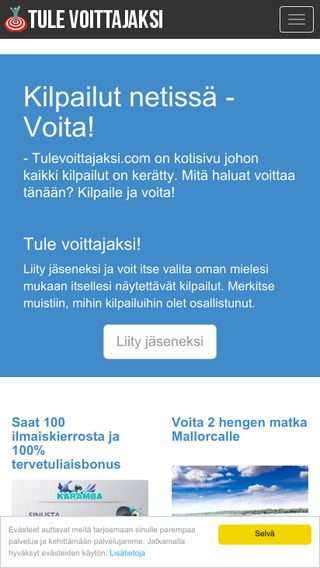 Mobile preview of ilmainenalku.fi