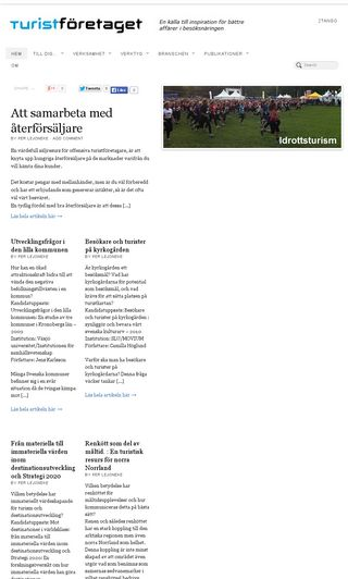 Mobile preview of turistforetaget.se