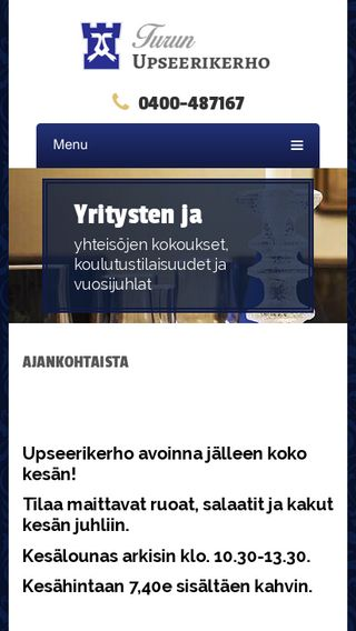 Mobile preview of turunupseerikerho.fi