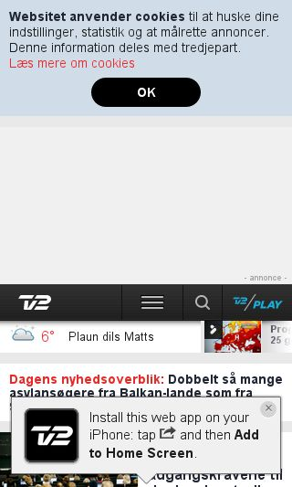 Mobile preview of business.tv2.dk