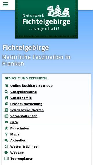 Mobile preview of tz-fichtelgebirge.de