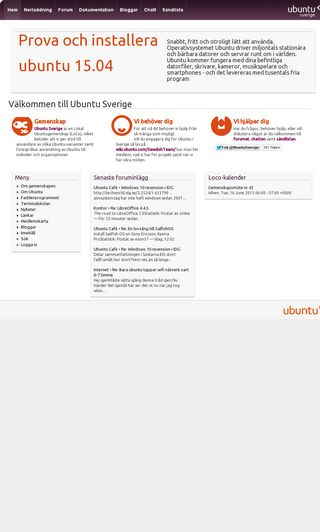 Mobile preview of ubuntu-se.org