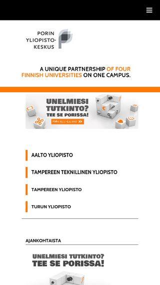Mobile preview of ucpori.fi