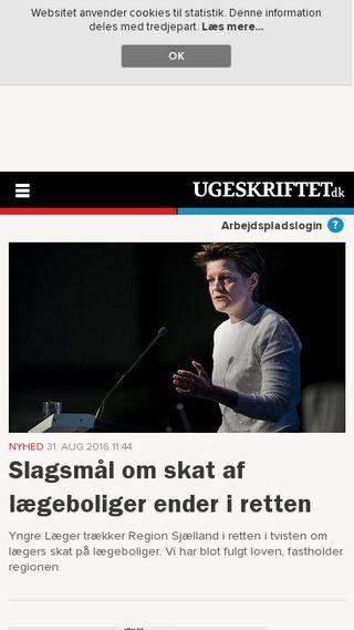 Mobile preview of rikkedarling.dk