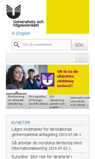 Mobile preview of uhr.se