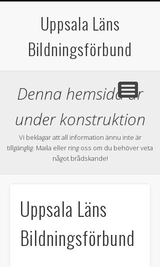 Mobile preview of ulb.se