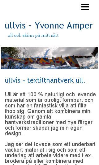 Mobile preview of ullvis.se