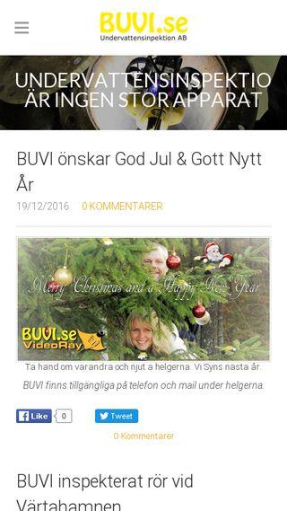 Mobile preview of undervattensinspektion.se