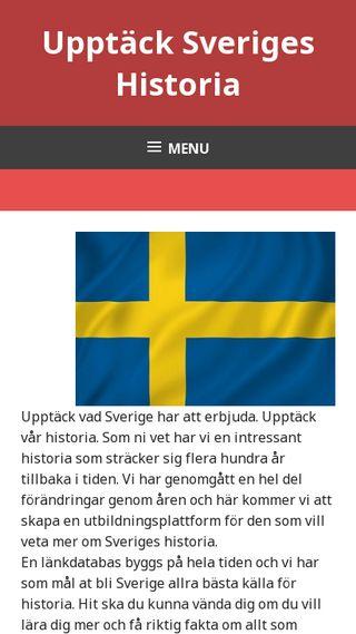 Mobile preview of upptacksverigeshistoria.se