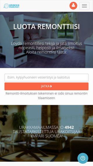 Mobile preview of urakkamaailma.fi