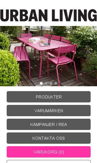 Mobile preview of urbanliving.se