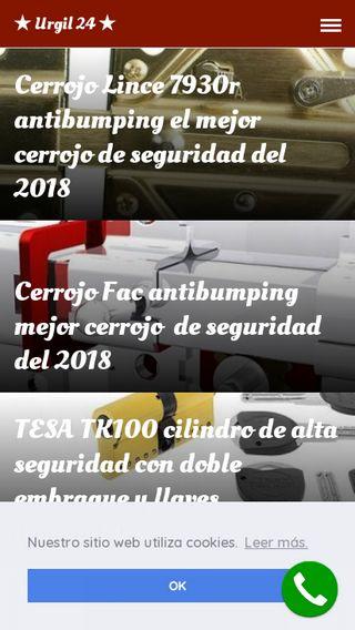 Mobile preview of urgil24.es