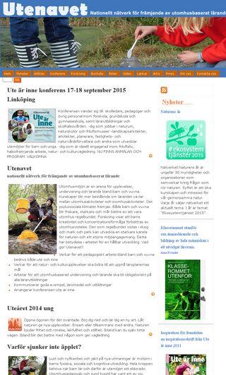 Mobile preview of utenavet.se