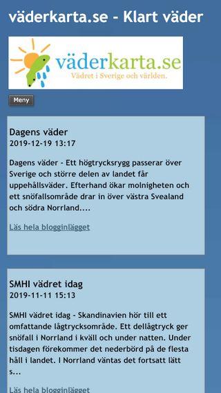 Mobile preview of vaderkarta.bloggo.nu
