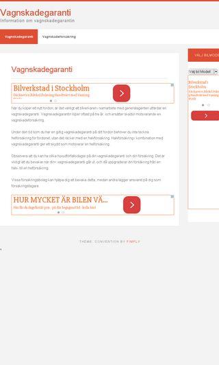 Mobile preview of vagnskadegaranti.se