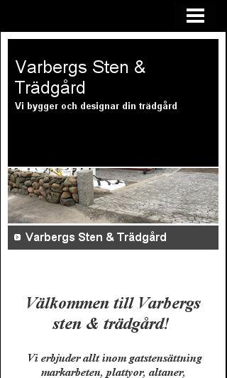 Mobile preview of varbergsstenochtradgard.se