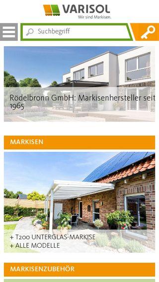 Mobile preview of varisol.de
