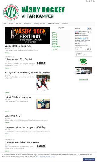Mobile preview of vasbyhockey.se