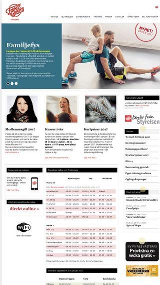 Mobile preview of vasteras.friskissvettis.se