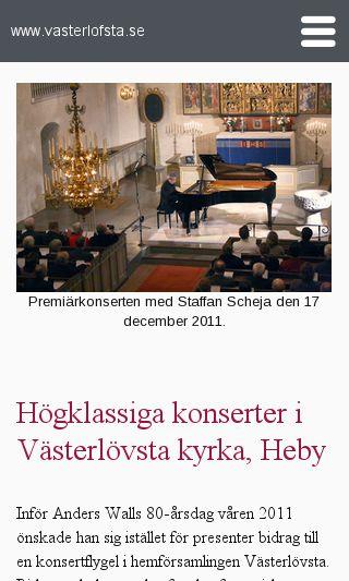 Mobile preview of vasterlofsta.se