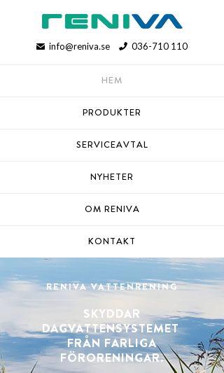 Mobile preview of vattenrening.se
