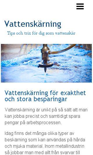 Mobile preview of vattenskaerning.se