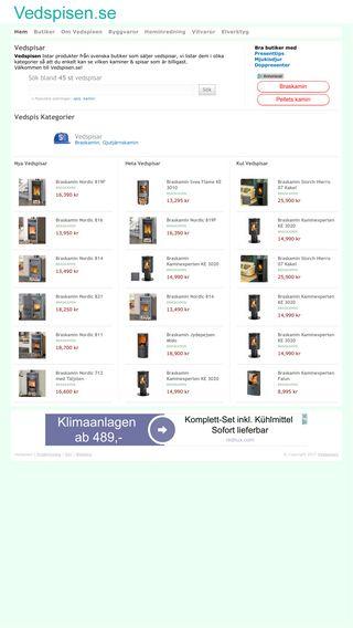 Mobile preview of vedspisen.se