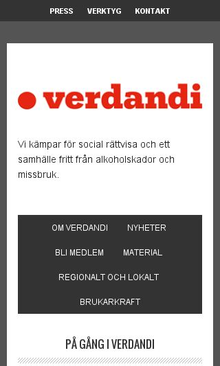 Mobile preview of verdandi.se