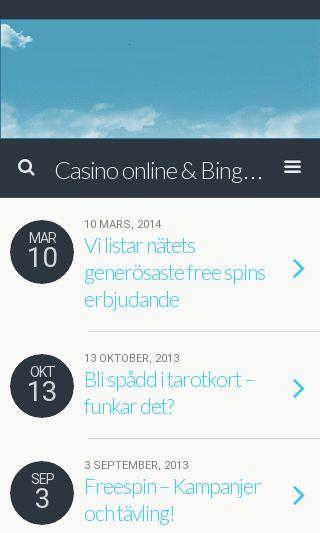 Mobile preview of verklighetsbloggen.se